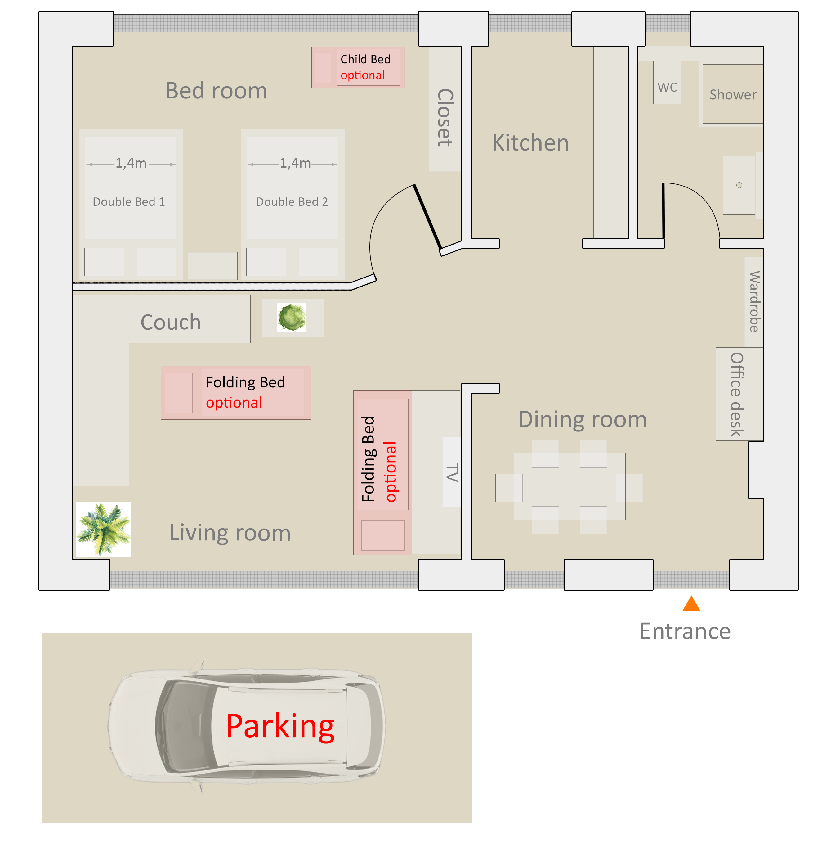 Picture of: Floorplan Townhouse